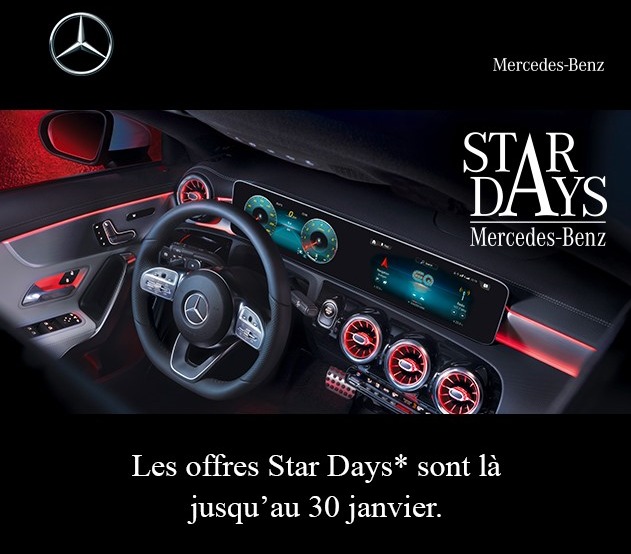 Offres Star Days 2021 Mercedes-Benz - Etoile 83 Sanary